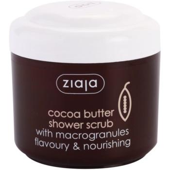 Ziaja Cocoa Butter gel de dus exfoliant