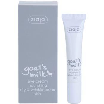 Ziaja Goat's Milk околоочен крем за суха кожа 1