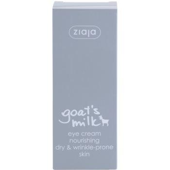 Ziaja Goat's Milk околоочен крем за суха кожа 2