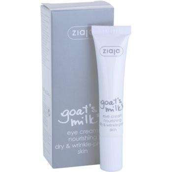 Ziaja Goat's Milk околоочен крем за суха кожа 3