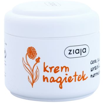 Ziaja Marigold jemný pleťový krém s vitamínem E