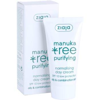 Ziaja Manuka Tree Purifying дневен крем  за смесена и мазна кожа 1