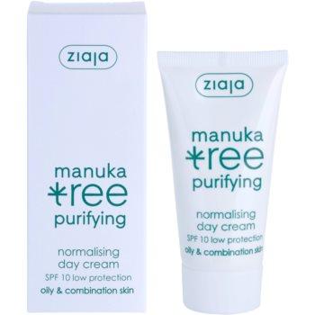 Ziaja Manuka Tree Purifying crema de zi pentru ten mixt si gras 2