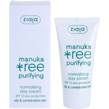 Ziaja Manuka Tree Purifying дневен крем  за смесена и мазна кожа 2
