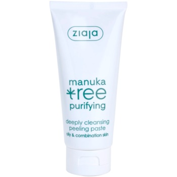 Ziaja Manuka Tree Purifying pasta pentru exfoliere pentru piele normala si grasa
