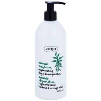 Ziaja Natural Avocado Oil regeneráló testápoló tej