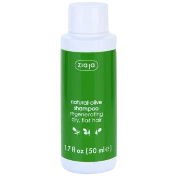 Ziaja Natural Olive sampon pentru regenerare pentru par uscat