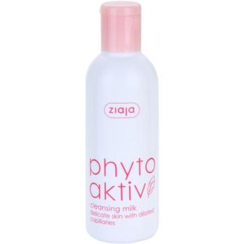 Ziaja Phyto Aktiv lapte demachiant pentru piele sensibila cu tendinte de inrosire
