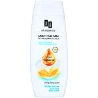 nährende Körpermilch für trockene Haut