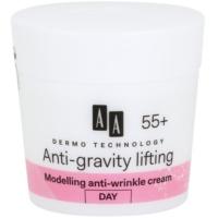 modellierende Creme mit Antifalten-Wirkung 55+