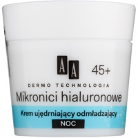 Rejuvenating and Smoothening Night Cream 45+