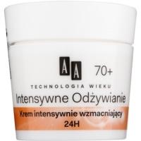 stärkende Creme zur Reduktion von Falten 70+