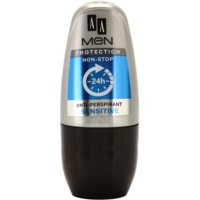 AA Cosmetics Men Sensitive roll-on antibacteriano sem perfume