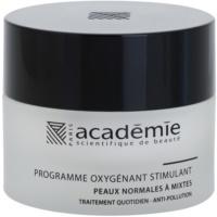 crème hydratante et renforçante visage
