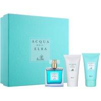 Acqua dell' Elba Blu Women Gift Set III  Eau De Toilette 100 ml + Shower Gel 50 ml + Body Lotion 50 ml