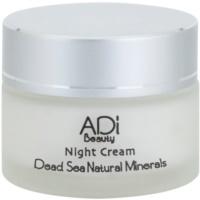 нічний крем проти передчасного старіння шкіри з мінералами