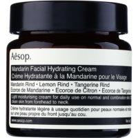 Aésop Skin Mandarin gel hidratante ligero para pieles normales y mixtas