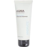 hydratační krémová maska