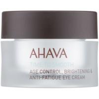 hydratačný očný krém s vyhladzujúcim efektom