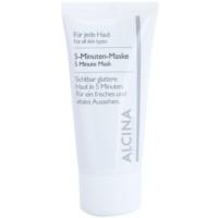 5-Minuten-Maske für ein frisches Aussehen der Haut