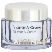 крем за лице с витамин А за дълготрайно редуциране на бръчките