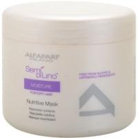 Alfaparf Milano Semí Dí Líno Moisture Maske mit ernährender Wirkung für trockenes und beschädigtes Haar