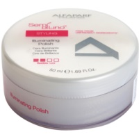 Hair Styling Wax With Shine