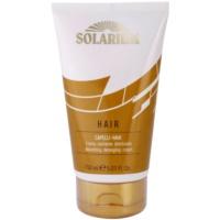 máscara nutritiva para cabelo danificado pelas ações do sol, cloro e sal