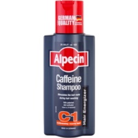 Alpecin Hair Energizer Coffeine Shampoo C1 champô de cafeína para homens para estimular crescimento de cabelo
