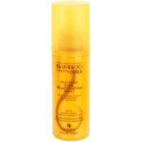 spray sans rinçage pour cheveux bouclés