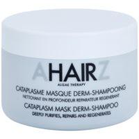 globinsko čistilna in regeneracijska maska v obliki šampona