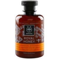 krémový sprchový gél s esenciálnymi olejmi
