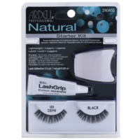 Stick-On Eyelashes With Glue