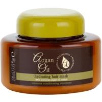 vyživující maska na vlasy s arganovým olejem