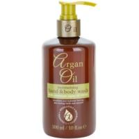 tápláló folyékony szappan argán olajjal
