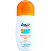 Moisturising Sunscreen Lotion in Spray SPF 10