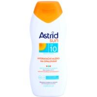 hydratační mléko na opalování SPF 10