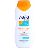 hydratační mléko na opalování SPF 15