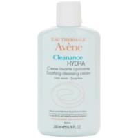 crema limpiadora con efecto calmante  para pieles resecas e irritadas debido a un tratamiento de acné