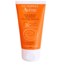 crema facial protectora con color  SPF 30