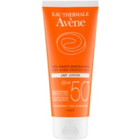 Avène Sun Sensitive mleczko do opalania SPF 50+