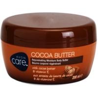 Avon Care подмладяващ крем крем за тяло с какаово масло и витамин E