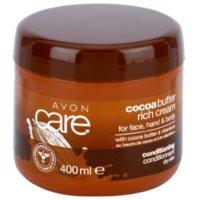 pflegende Creme für Gesicht, Hände und Körper