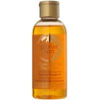 obnovujúci masážny olej s marockým arganovým olejom