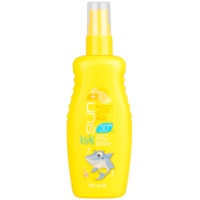 vízálló türkiz napozó spray SPF 30