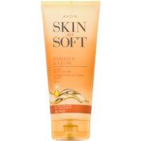 Avon Skin So Soft samoopaľovacie telové mlieko SPF 15
