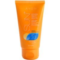 frissítő vízálló hidratáló napozó arckrém SPF 30