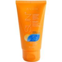 освежаващ водоустойчив хидратиращ крем за лице за загар SPF 30