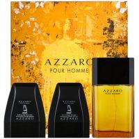 Azzaro Azzaro Pour Homme Gift Set XII.  Eau De Toilette 100 ml + Shower Gel 75 ml + Aftershave Balm 75 ml