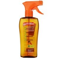 olej na opalování SPF 6